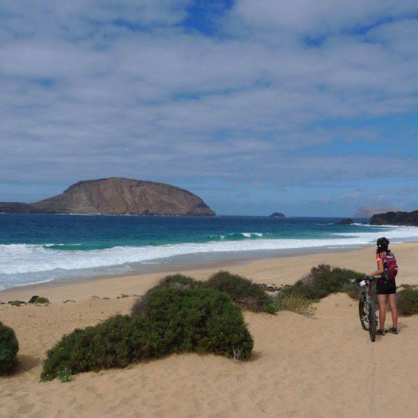4-La Playa de las Conchas, llogarret idílic de La Graciosa